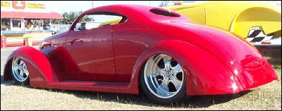 1937 Ford Coupe Hot Rod
