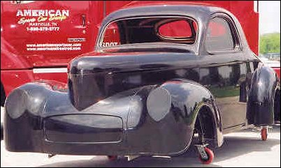 Complete 1941 Willys Coupe body package